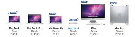 Nuevos Mac Pro y MacBook Air acompañando a Lion esta semana, MacBook y Mac mini después (Actualizado)