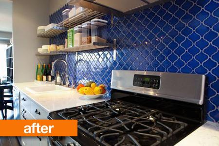 Antes y despu s una cocina inspirada en la decoraci n for Que son los azulejos