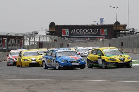 Gabriele Tarquini y Andy Priaulx vencen en Marrakech