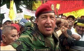 Presidente Chavez ayuda a los estadounidenses