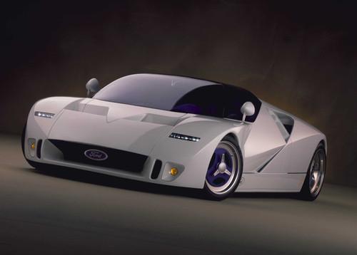 Ford y su transbordador espacial para carreteras, recordando a: Ford GT90