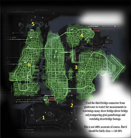 Watch Dogs mapa
