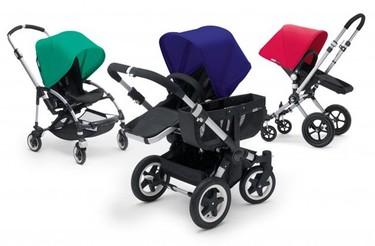 Nuevos colores intensos para la familia de cochecitos Bugaboo