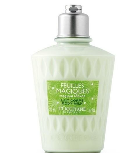 Leche corporal Feuilles Magiques L'Occitane 2012