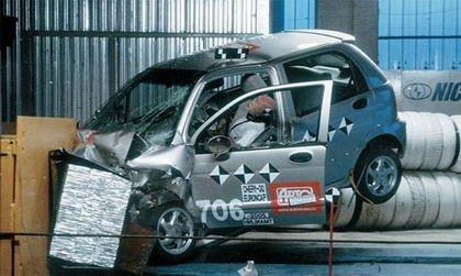 Chery QQ Crash Test