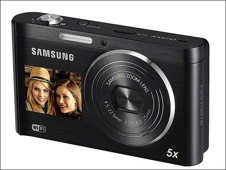 Samsung DV-300F doble pantalla ahora con WiFi
