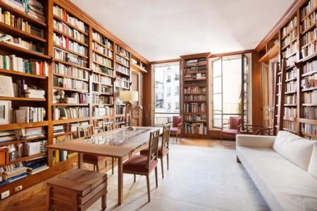 Una casa en París con los libros como protagonistas