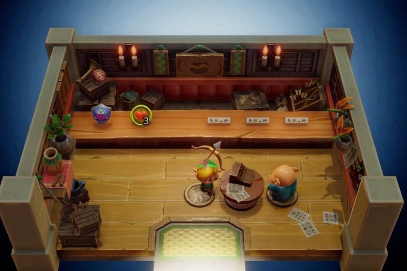En el remake de The Legend of Zelda: Link's Awakening seguirás pagando caro los crímenes que cometas en la tienda [E3 2019]