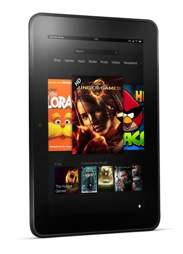 Kindle Fire publicidad