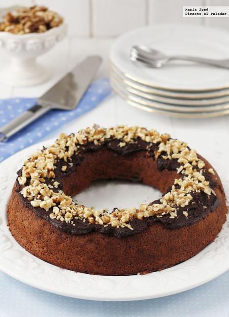 Receta de tarta de chocolate y nueces sin gluten, una deliciosa forma de merendar