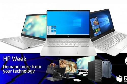 Estos 11 portátiles de trabajo están rebajados hasta en un 15% en la HP Week en PcComponentes