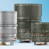 Leica presenta nuevas ediciones especiales de tres de sus ópticas Summicron para el sistema M