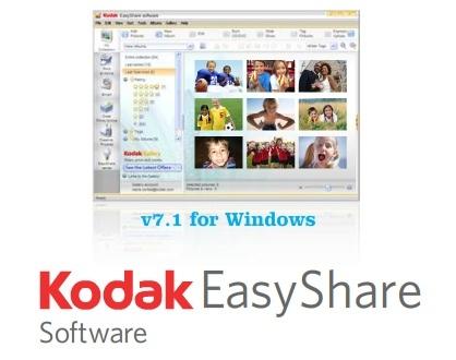 Kodak EasyShare 7.1, con retoque de imágenes