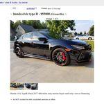¿En serio? Alguien quiere vender un Type R usado por 55.000 dólares, ¡el precio de un Corvette nuevo!