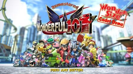 Ya puedes descargar gratis una demo de The Wonderful 101 Remastered con Bayonetta de invitada especial