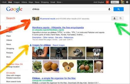 El buscador de Google mejora la búsqueda social con la presentación de 'Search plus your World'