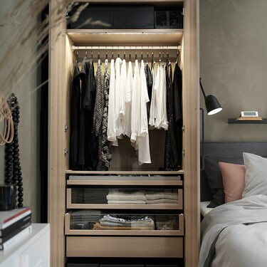 Diez razones por las que amar el armario Pax de Ikea