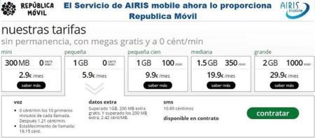 Airis Mobile desaparece integrándose en República Móvil, ¿no hay hueco para tanto virtual?