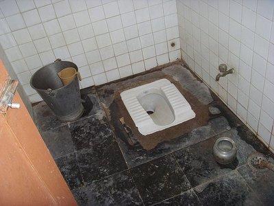 Ir al baño cuando viajas: a favor de la placa turca