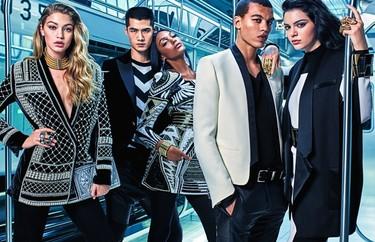 ¡Ya queda menos! Primera imagen de la campaña de Balmain para H&M