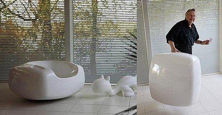 Soap Chair, un asiento como una gran pastilla de jabón