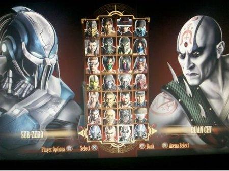 Mortal Kombat - Plantilla de luchadores