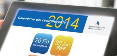 Calendario fiscal enero 2014