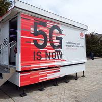 Huawei saca de gira por España un camión 5G para enseñar para qué sirve esta tecnología