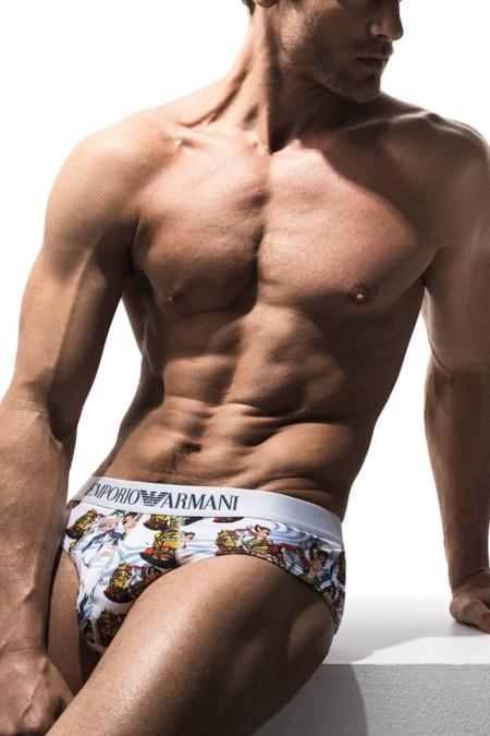 Jason Morgan Emporio Armani Underwear Spring Summer 2016 005