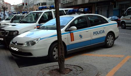 Citroen C5 policial