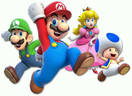 Main Crew Artwork Super Mario 3d World
