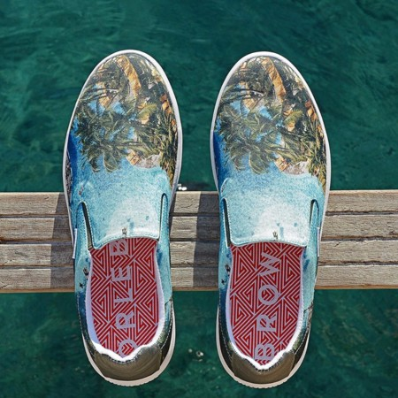 Del verano azul con estilo: slip-on de Orlebar Brown