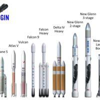 Así es el primer cohete orbital creado por el fundador de Amazon