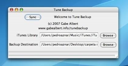 TuneBackup: Copias de seguridad incrementales de tu biblioteca musical en iTunes