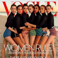 Posiblemente esta se convierta en una de las portadas más míticas de este 2017: Vogue US