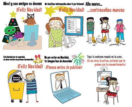 Mosi y sus amigos enseñan a los niños a navegar por Internet