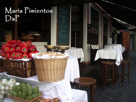 Terraza del restaurante La Pequeña
