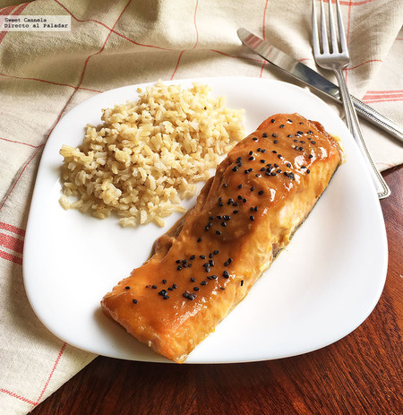 Salmon Glaseado