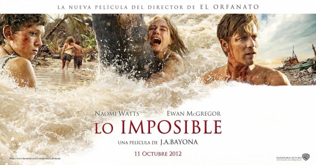 Foto de 'Lo imposible', todos los carteles (3/5)