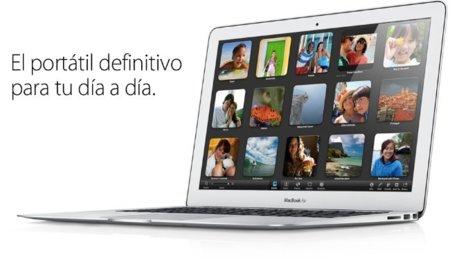 El MacBook Air se renueva con los procesadores Core i5 e i7 de Intel