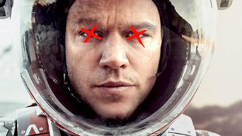 Los ojos azules en la Tierra no pueden ser azules en Marte: lo dice la física y la