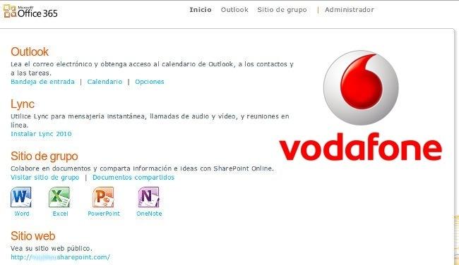 Vodafone renueva su aliza con Microsoft y adopta Office 365 en su oficina en la nube