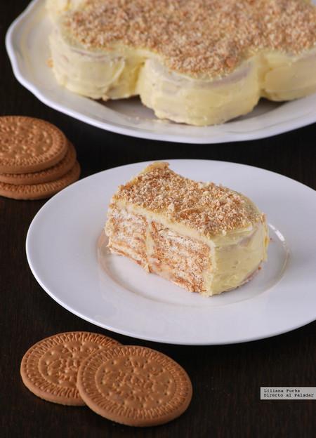 tarta de galletas maría
