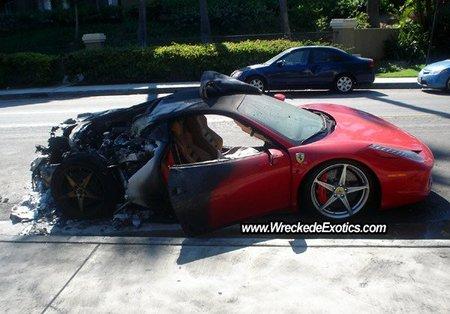 """Ferrari llama a revisión a los Ferrari 458 Italia por el """"Burngate"""""""