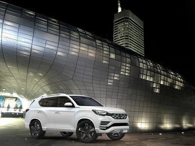 Así es el SsangYong LIV-2 Concept, el anticipo de un nuevo Rexton mucho más refinado