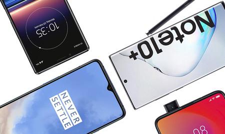Guía de compras de navidades: los mejores móviles de gama alta de 2019