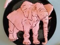 Papá, hay un elefante en mi plato