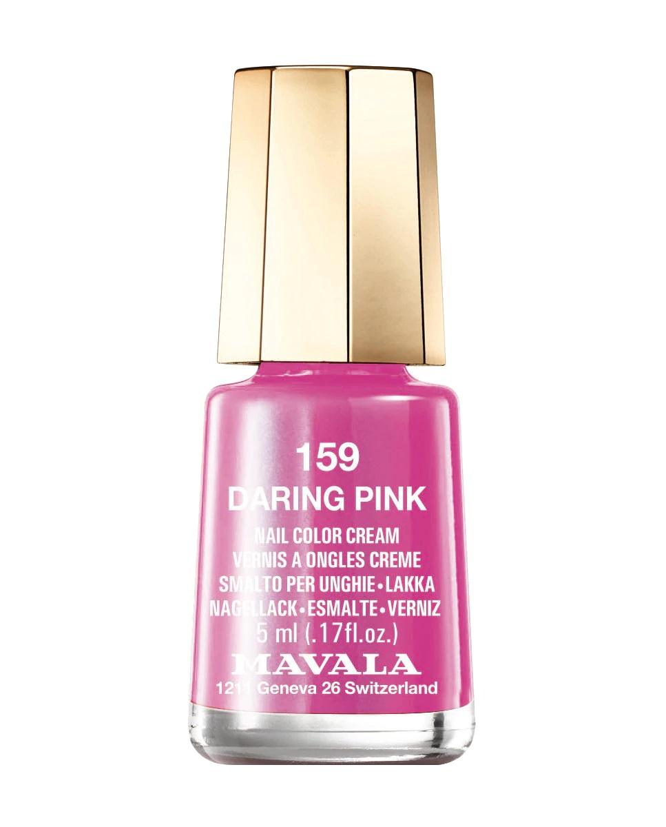 Esmalte en rosa chicle Daring Pink de Mavala