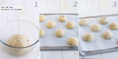 Receta de panecillos tiernos de espelta con semillas