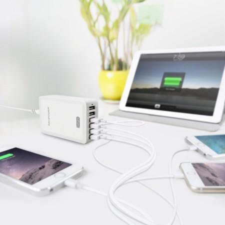 Estación de carga USB